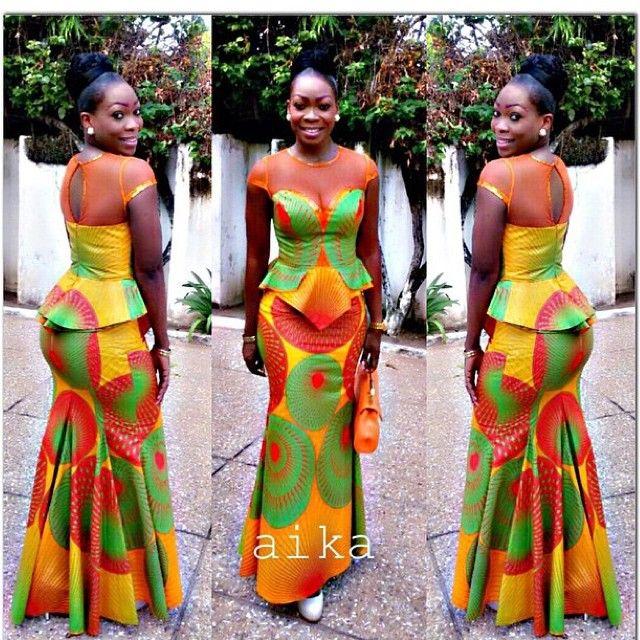 Amazing… Ankara and Lace Combo… – African Designers Corner